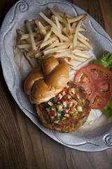 (ArkFoodie) Tags: burger burgers pretzels atlanticcity tropicanacasino broadwayburgerbar