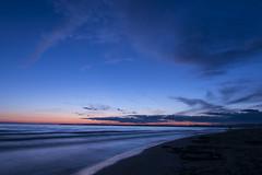 Venus in Blue-2298 (RG Rutkay) Tags: trip camping sunset vacation lake ontario beach nature water clouds landscape evening twilight shoreline shore sandbanksprovincialpark