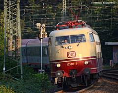 103 113-7 DB Fernverkehr (vsoe) Tags: train germany deutschland ic engine eisenbahn rail railway db nrw düsseldorf bahn tee 103 nordrheinwestfalen lok züge fernverkehr einheitslok
