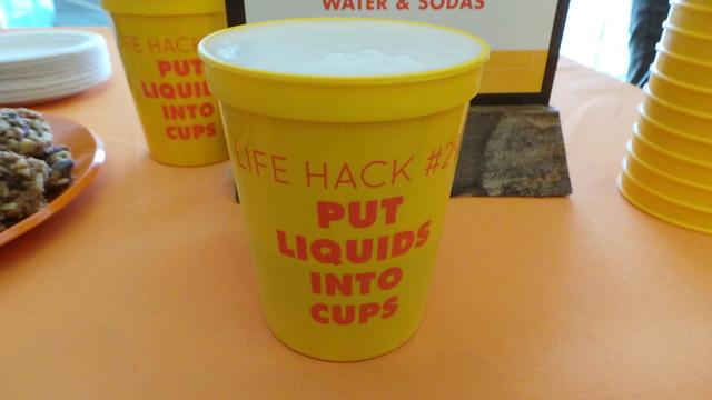Put Liquid Into Cups. Cultivated Wit Comedy Hack Day at MIT Media Lab