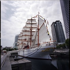 Sail Training Ship NIPPON MARU  (HASSELBLAD SWC)