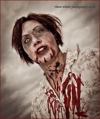 Folkestone Zombie... (ziggystardust111) Tags: zombie folkestone wwwvincewinterphotographycouk httpstwittercomvincewinterart twittercomdreamstangerine