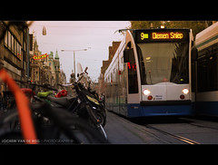 Amsterdam (Jochem van de Weg) Tags: street city holland netherlands amsterdam bike cycling kid child capital nederland cycle nl mokum stad noordholland