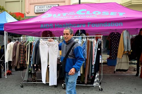 Out of the Closet at the Visitacion Valley Market Bazaar (
