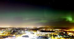 Northern Lights [explored] (timo_w2s) Tags: night finland helsinki northernlights auroraborealis cirrus vuosaari revontulet