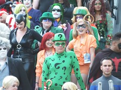 The Riddler (Adam Antium) Tags: costumes adam comics movie book costume comic dragon cosplay version jim books super tights convention hero superhero heroes superheroes tight costuming con riddler spandex guardian lycra heros carey the 2013 antium