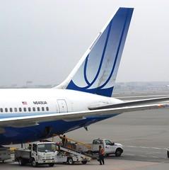 United Airlines Boeing 767-322ER N648UA Tail (Mark 1991) Tags: newyork boeing newark 767 unitedairlines newarkairport newarkliberty n648ua