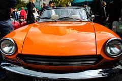Vintage Classic Car Boot Sale 2013 - 06 (garryknight) Tags: orange london car vintage nikon southbank lightroom 1855mmvr d5100 perfectphotosuite classiccarbootsale