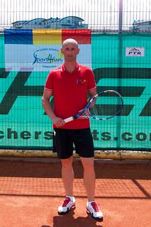Petru Merghes , antrenor tenis