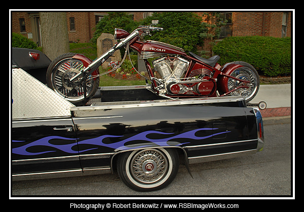 cadillac motorcycle carshow orangecountychoppers cruisenight lincolnmarklt oysterbayny audreyavenue rsbimageworks robertberkowitz