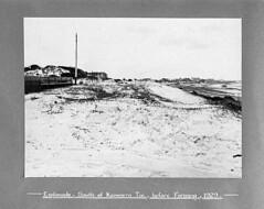 Esplanade, south of Koowarra Terrace, before forming (paelocalhistory) Tags: roadworks places esplanade roads sanddunes largsnorth ladygowriedrive beachesanddunes