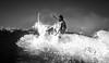 Silver friend (www.undonephotos.com) Tags: ocean sea summer bw sun beach portugal water canon sand surf waves barrels surfers algarve bodyboard carcavelos 2013 mywinners