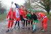 Tel's Belles Christmas Cracker River Run 2013 003