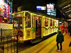 200238 Hiroshima Electric Railway ustra Hannoversche Verkehrsbetriebe Duewag aufbauwagen (hiroshimaphotography) Tags: christmas weihnachten illumination tram hannover hiroshima weihnachtsmann santaclaus streetcar tramway duewag strasenbahn waggonfabrikuerdingen strahannoverscheverkehrsbetriebe