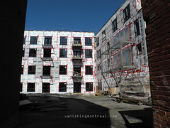 Rose de Lima 11 (Vanishing Montréal) Tags: art history architecture photography montreal demolition histoire newconstruction villedemontreal disappearinghistory