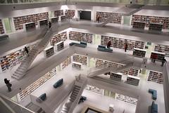 Library (offroadsound) Tags: architecture floors floor stuttgart library space raum bibliothek cube babylon würfel etage bücherei quader