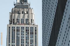 New York (Edi Bhler) Tags: newyorkcity newyork building facade structure highrise bauwerk gebude fassade hochhaus vereinigtestaaten 80400mmf4556 nikond3 empirestatebuildingnewyorklm