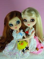 I ♥ PullipCon – Juliette et Lily (~Louna~) Tags: pullip fc custo fullcusto nomyens