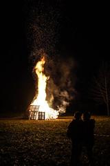 The witch burning (tampurio) Tags: italy kids night fire italia witch burning burn epifania fuoco fal padova befana padua torreglia