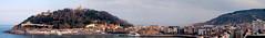 Donosti (Ivaj Aicrag) Tags: panorama landscape la mar san sebastian pano vieja paisaje panoramic panoramica donosti isla vasco euskadi parte donostia panormica gipuzkoa pas cocha urgul udal canaabrico uyantamiendo