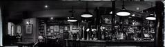 Ambiente de Pub (s-och) Tags: bw autostitch panorama pub bangor caernarfon fatcatpub brenezier