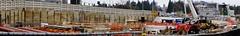 Husky Stadium Station: A peek at the construction (Shane in the City) Tags: seattle uw station train construction husky pacific lightrail universityofwashington shipcanal montlake soundtransit huskystadium sr513 huskystadiumstation