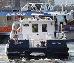 Lambeth (2) @ Tower Bridge 16-01-14 (AJBC_1) Tags: uk england london towerbridge boat ship unitedkingdom vessel riverthames pla portoflondonauthority patrolboat ajc ajc