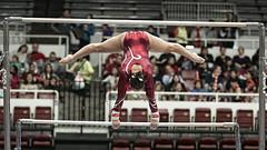 Stanford Women's Gymnastics (carlsolder) Tags: college gymnast gymnastics stanford pac12