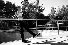 Dino (arterial spray) Tags: sanfrancisco california tattoo traditional battery spot american skateboard vans skater wifebeater fortmiley dalliswillard