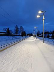 Empty (MortenHpictures) Tags: norway train norge trainstation elements tog togstasjon nordbystasjon fujifilmx20