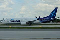 F-GZHD (Air Transat) (Steelhead 2010) Tags: boeing fll b737 freg airtransat b737800 transaviafrance fgzhd