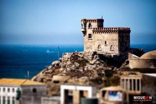 El castillo de Santa Catalina. / Castle of Santa Catalina. - Tarifa -  Cádiz