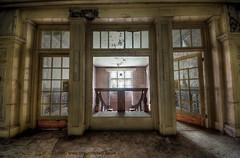 Parklife (Sshhhh...) Tags: light abandoned window stairs dark doors darkness decay empty explorer dirty explore urbanexploration aged dust exploration asylum derelict ue uninvited urbex sshhhh overspill