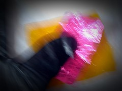 Pink touch (april-mo) Tags: pink blur experimental blurred flou experimentalphoto flouartistique experimentalart experimentaltechnique