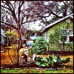In Travis Heights #gardenstatuary (matzohball77) Tags: gardenstatuary uploaded:by=flickstagram instagram:venuename=austin2ctx instagram:venue=201270594 instagram:photo=6485411995889078282463317