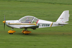 G-CCEM (QSY on-route) Tags: city manchester airport barton egcb gccem 10042014