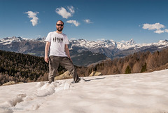 My Self...ish (Berto Means Berto) Tags: wood panorama mountain snow alps nature montagne trekking walking landscape stream neve neige matterhorn alpi montagna bois bosco valledaosta cervino escursionismo escursione valléedaoste