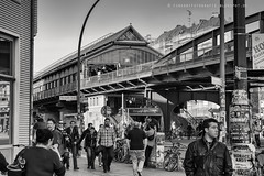 Life in Berlin - Subway Station (www.streetphotography-berlin.com) Tags: life street people blackandwhite black berlin monochrome berg germany subway metro streetphotography menschen ubahn leben blackwhit prenzlauer strase strasenszene
