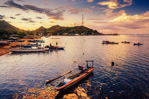 An Afternoon in Poto Tano, Sumbawa