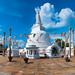 Thuparama dagoba in Anuradhapura