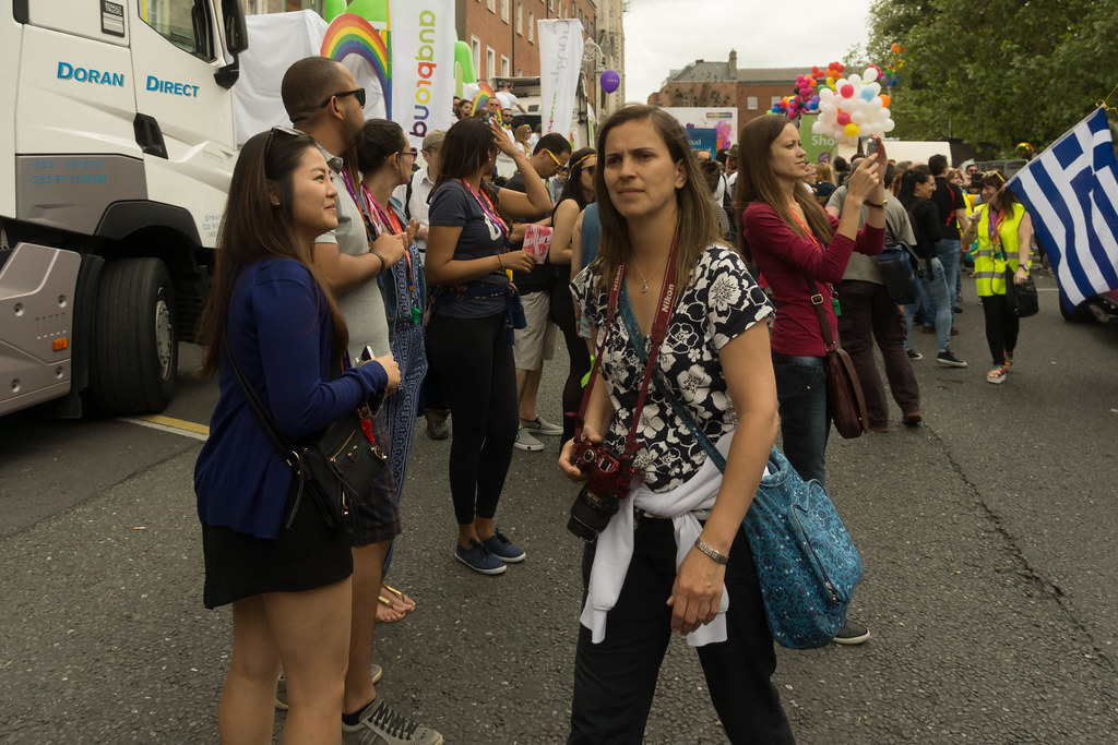 DUBLIN 2015 GAY PRIDE FESTIVAL [BEFORE THE ACTUAL PARADE] REF-106256