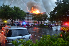 Avanti Resort Fire (Emergency_Vehicles) Tags: county rescue orange fire drive hotel orlando resort international avanti