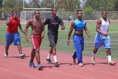 D128396A (RobHelfman) Tags: sports losangeles football highschool practice crenshaw hakeemgarbutt nygellewis mekhijohnson