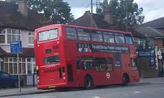 London General PVL406 on route 118 Mitcham 01/08/15. (Ledlon89) Tags: bus london transport croydon londonbus tfl bsues croydonbuses