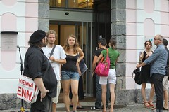"EuroVision Lab. opening @ Muzej novejše zgodovine Slovenije! • <a style=""font-size:0.8em;"" href=""http://www.flickr.com/photos/109442170@N03/19650621879/"" target=""_blank"">View on Flickr</a>"