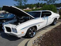 1971 Pontiac LeMans (splattergraphics) Tags: 1971 pontiac lemans carshow customcar burtonsvillemd churchoftheholydonut