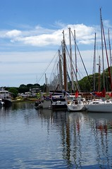 Port (Knarfs1) Tags: sea france port boat frankreich meer wasser sailing harbour bretagne bateaux sail hafen aquatique miroire