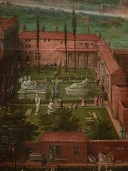 CLEVE (van) Hendrick III ,1580 - Vue sur les Jardins du Vatican et la Basilique St-Pierre (Custodia) - Detail 18 (L'art au présent) Tags: art painter peintre details détail détails detalles painting paintings peinture peintures 17th 17e peinture17e 17thcenturypaintings 17thcentury detailsofpainting detailsofpaintings tableaux custodia custodiafoundation paris france hendrickiiivancleve hendrick hendrickiii cleve vancleve dutchpaintings peintreshollandais dutchpainters jardinsduvatican basiliquestpierre basilique basilica stpierre jardins gardens parc park vatican italie italia italy church panorama landscape house houses maisons figure figures people personnes plaisirs jeux games game fun play pleasure montagnes mountain mountains abruzzes 7collinesderome rome roma sevenhillsofrome saintpierrederome saintpierre