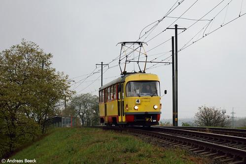 Litvínov (CZ), 05.11.16, T3SU 266 bei Petrochemie