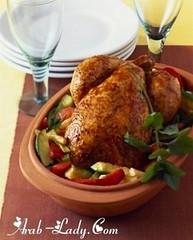 وصفة الدجاج بدبس الرمان (Arab.Lady) Tags: وصفة الدجاج بدبس الرمان
